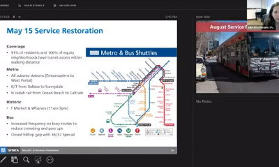 Transit Recovery: A Discussion with Director of Transit Julie Kirschbaum