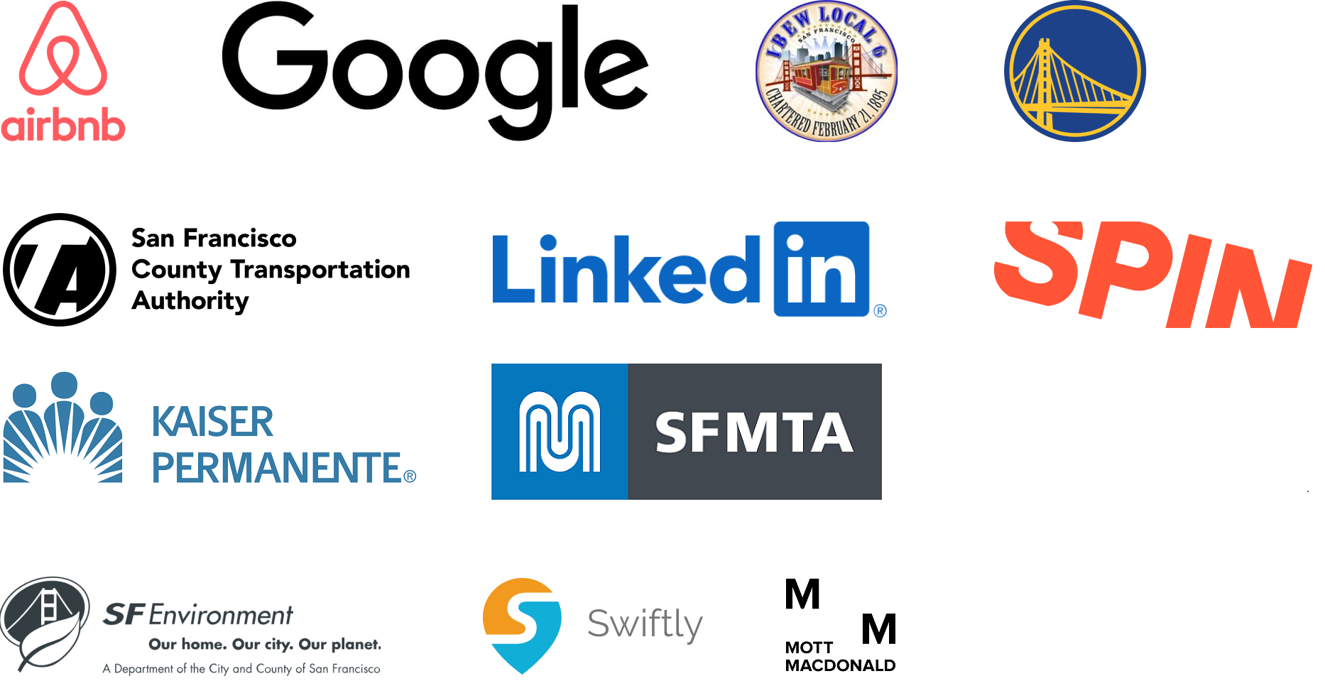 Transit Month Sponsor Logos